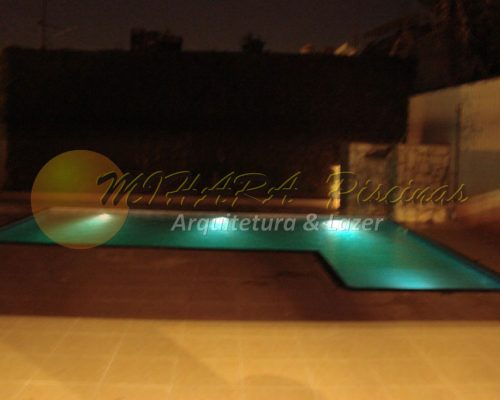 Iluminação para piscinas,mihara