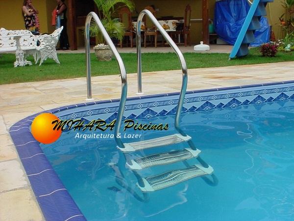 escadas para piscinas em sp mihara piscinas na zona leste